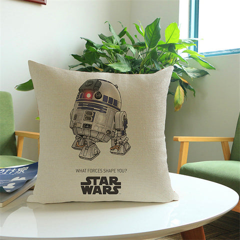 Miraculous Cartoon Cotton Linen Star Wars Decorative Cushion Cover Sofa Throw Pillow Cover Case Chair Car Home Living Room Decoration T Creativecarmelina Interior Chair Design Creativecarmelinacom