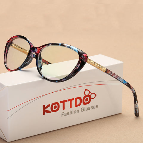 Retro Cat Eye Eyeglasses Optical Spectacle Frame Women's Eye Glasses Vintage Computer Reading eyeglasses Frames