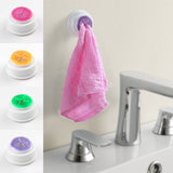 1PCS kitchen accessories Wash cloth clip holder clip dishclout storage rack bath room storage hand towel rack