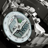 New Watches Men Luxury Brand Men's Quartz  LED Digital Clock Man Army Military Sports Wrist Watch