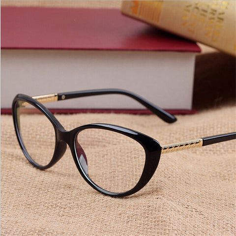 Women Optical Glasses Spectacle Frame Cat Eye Eyeglasses Anti-fatigue Computer Reading Glasses Eyewear