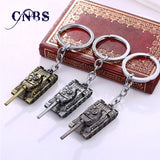 3 Colors 3D World of Tanks Key chain Metal Key Rings For Car Keychain Jewelry Game Key Holder Souvenir