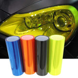 Car styling 12 Colors Car Light Headlight Taillight Tint Vinyl Film Sticker Lamp Stickers Brake Light Car Accessories