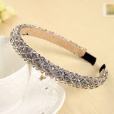 Shining Crystal Fashion Modern Style Headband Hairbands for Girls Headwear Hair Accessories for Women