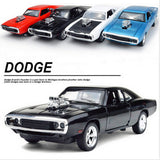 1:32 Scale Fast & Furious 7 Alloy Dodge Charger Pull Back Toy Cars  Diecast  Model Kids Toys Collection Gift