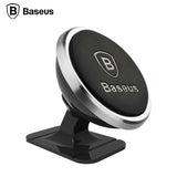 Baseus Universal Car Phone Holder 360 Degree GPS Magnetic Mobile Phone Holder For iPhone Samsung Magnet Mount Holder Stand