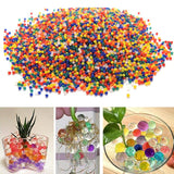 10,000pcs/Bag Home Decor Pearl Shaped Crystal Soil Water Beads Bio Gel Ball For Flower/Weeding Mud Grow Magic Jelly Balls