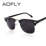 Half Metal Sunglasses Men Women Brand Designer Glasses G15 Coating Mirror Sun Glasses Fashion