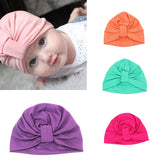 Baby Hat Children Baby Caps Cotton Unisex Girls Boys Hats Newborn Photography Props Candy Color Beanies Accessories