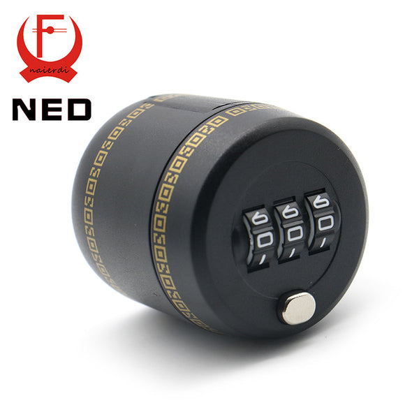 Plastic Bottle Password Lock Combination Lock Wine Stopper Vacuum Plug Device Preservation For Furniture Hardware