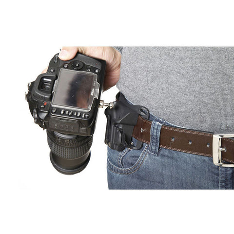 "1/4"" Screw Camera Waist Spider Belt Holster Quick Strap Buckle Dull Polished Surface for DSLR Digital SLR Camera"