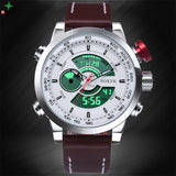 Waterproof Sport Digital LED Watches Men Analog Digital Watch Brand Men Luxury Quartz Wristwatch Men Sports Watches