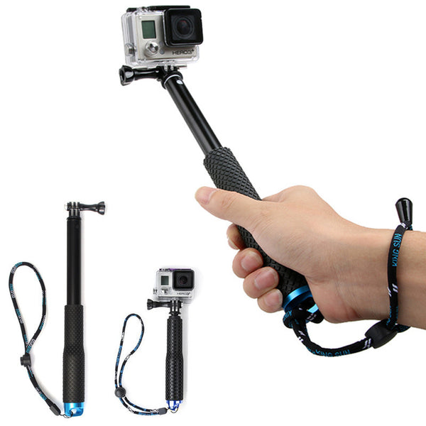 36 inch For SP POV Pole Extendable Selfie Stick Handheld Monopod Dive Since for Gopro Hero 4 3+ 3 2 sj4000 Sport Camera