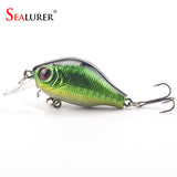 1PCS 5.5cm 9g pesca crankbait hard Bait tackle artificial lures swimbait fish wobbler
