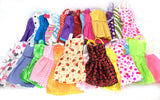 10 Pcs Mix Sorts Beautiful Party Clothes Fashion Dress  For Barbie Doll