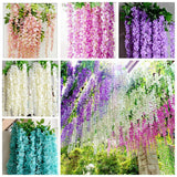 10 Pcs / Bag Wisteria Flower  Bonsai Purple Yellow White Pink Wisteria  Bonsai Indoor Ornamental Plants Flower Bonsai Wisteria