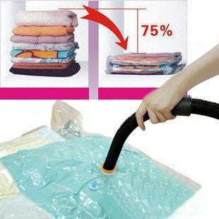 1 Piece Large Space Storage Luggage Bag Vacuum Seal Travel Compressed Packing Organizer