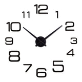 Diy Wall Clock Acrylic diy Clocks Quartz Watch Living Room Modern 3d Mirror Stickers Home Clock