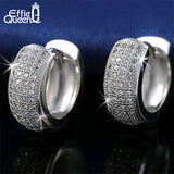 Effie Queen Micro Paved AAA Zircon Earrings For Women's Birthday Gift Luxury Woman Earrings