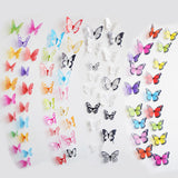PVC Removable Butterfly 3D Wall Sticker Wall Stickers Home Decor Home Decoration