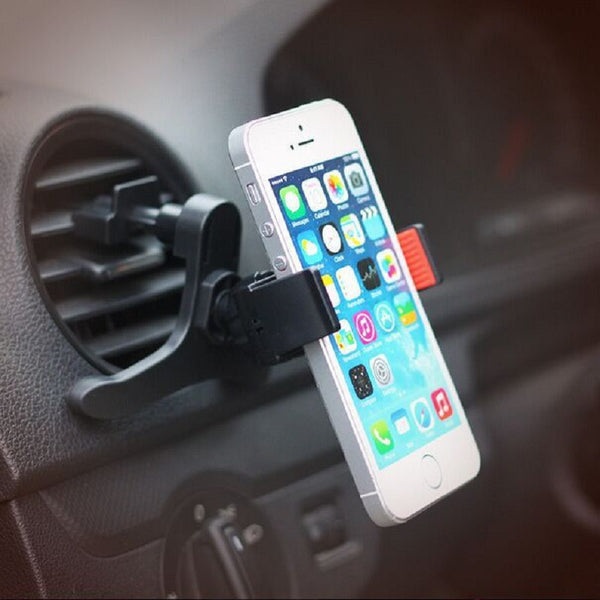 Car phone Holder Stand For iPhone 7 4s 5s 6 plus for samsung s4 s5 Universal car air vent Mobile Phone Holder