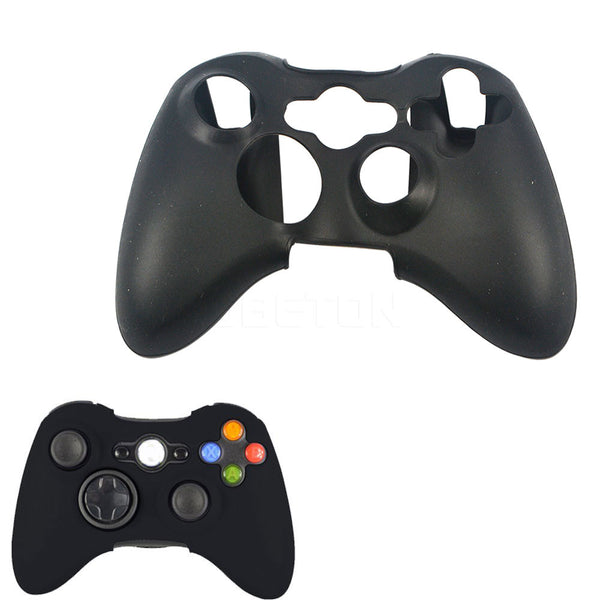 1pcs Quality Silicone Skin Case Soft Protective Case Cover for XBOX 360 Game Controller for Game Accessories