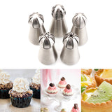 1Pc Kitchen Russian Tulip Nozzle For Cake Cupcake Decorating Icing Piping Nozzles Russian Rose Nozzles Tips