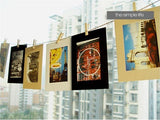 10 PCS 6 inch vintage frame photo DIY photo frames for picture wedding photo frame 3 colors photo frame wall