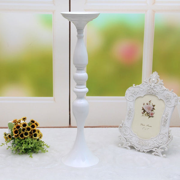 3 colors 50cm height metal candle holder candle stand wedding centerpiece flower rack