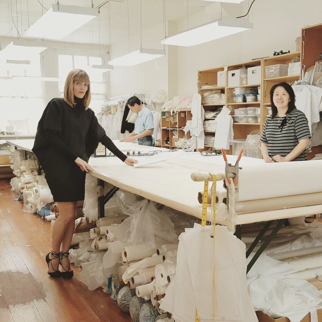 Amy and Mei in our San Francisco workroom