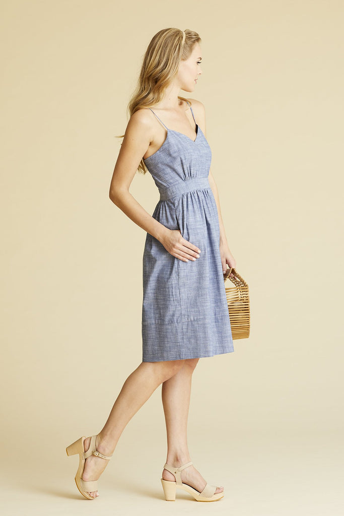 Sunday Sundress, CBR, denim