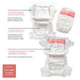 Ultra Soft Bamboo Fiber Diapers