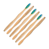 Custom - Adult Soft Bamboo Toothbrushes (6 pack)