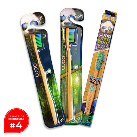 Day #4 Woobamboo Toothbrush Sampler Pack