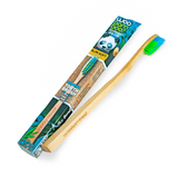 Adult Slim Handle Bamboo Toothbrushes - Zero Waste Packaging