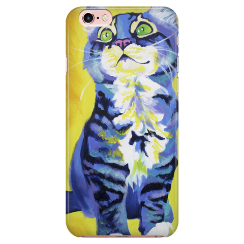 Blue Little Cat iPhone 6 /6 Plus & 7/7 Plus