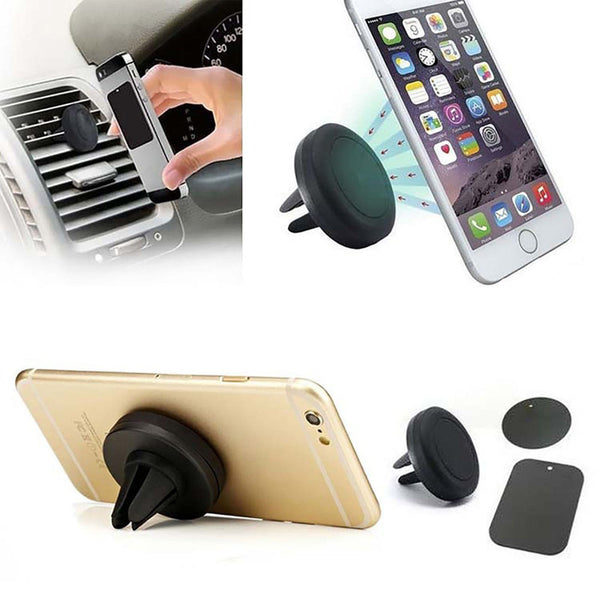 360 Degree Universal Magnetic Air Vent Mount Mobile Phone Holder