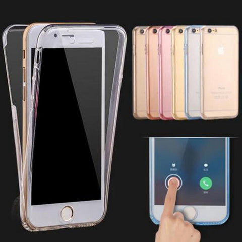 360 Degree Smart Touch Soft Cover For iPhones