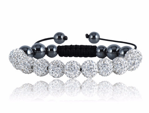 Crystal Shamballa Bracelet - FREE Shipping with 3 or MORE! - Passion Promos