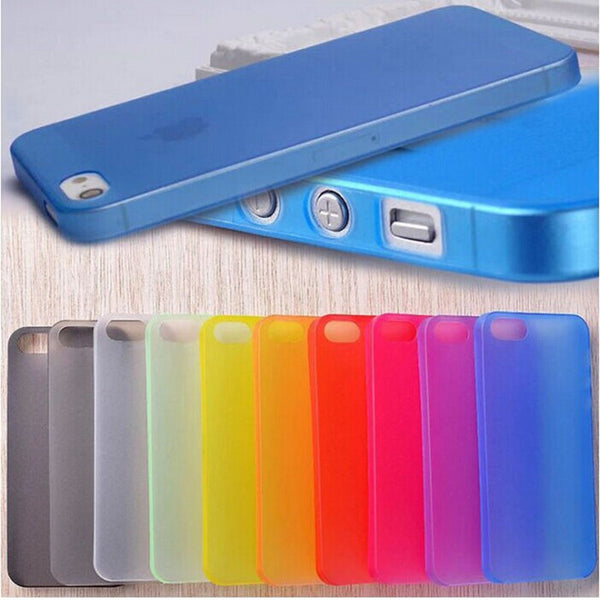 Matte Transparent Ultra-thin 0.3mm Case for iPhones