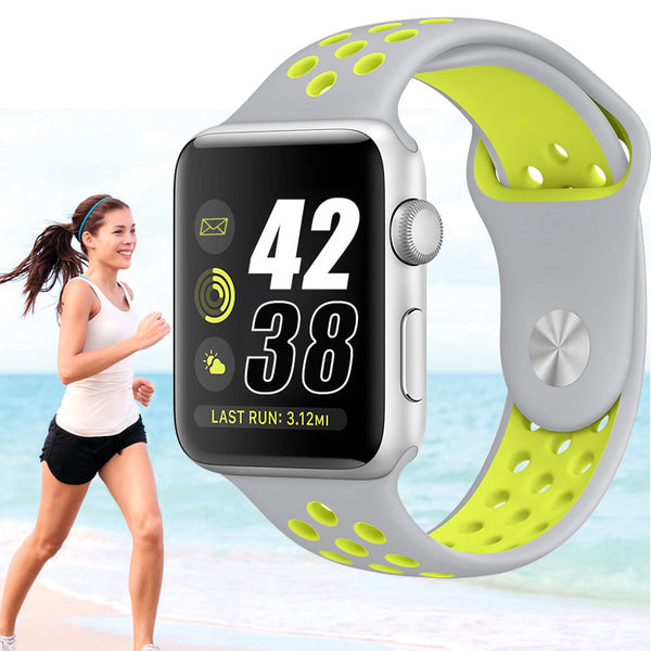 Breathable Silicone Band for Apple Watch