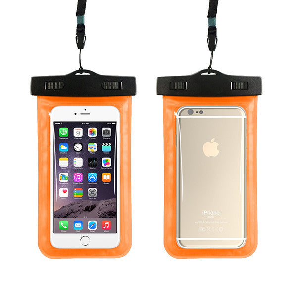 Waterproof Phone Pouch with Strap for iPhone