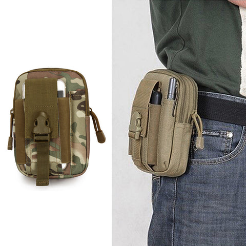 1000D Nylon Outdoor Tactical Waist Belt Bag - FREE Shipping! - Passion Promos