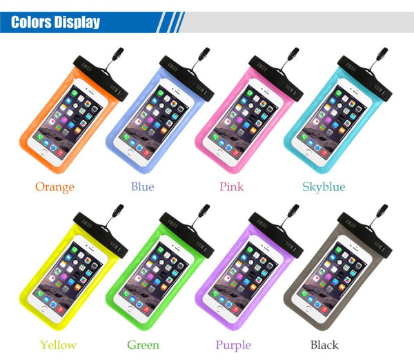 Waterproof Phone Pouch with Strap - FREE + Shipping