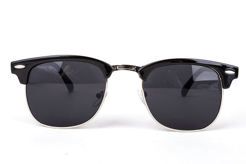 Designer Half Metal Sunglasses