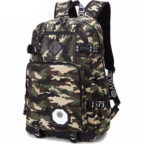 Tactical Style Large Travel Backpack