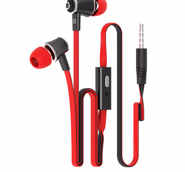 Stereo Earphones with Built-in Microphone Headphone