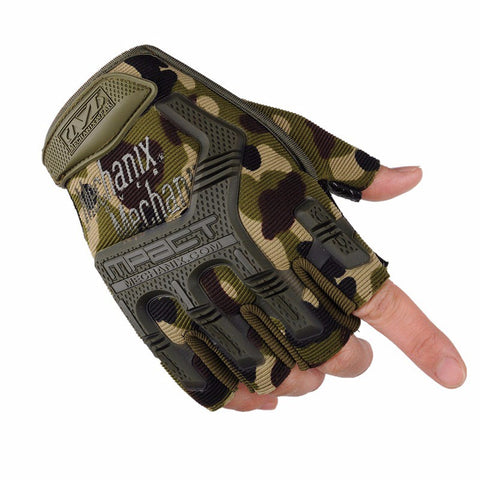 Outdoor Army Half Finger Military Tactical Gloves