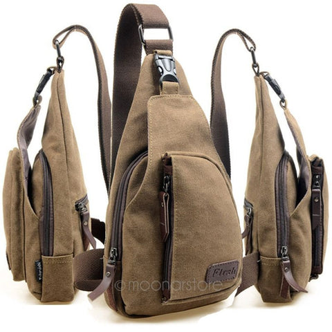 Military Messenger Shoulder Bag for Outdoor/Travel/Hiking/Sport Canvas