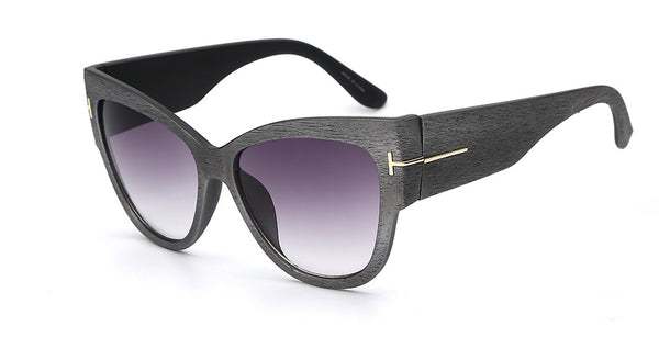 Cateye Gradient Point Sunglasses